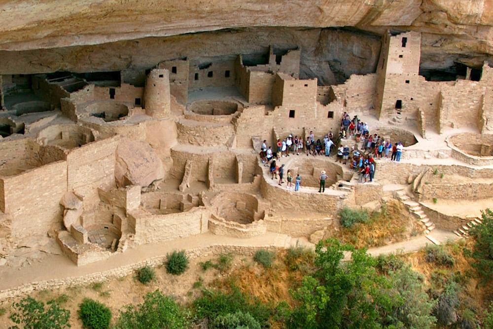 Cities of Sandstone Promotion Mesa Verde National Park CO